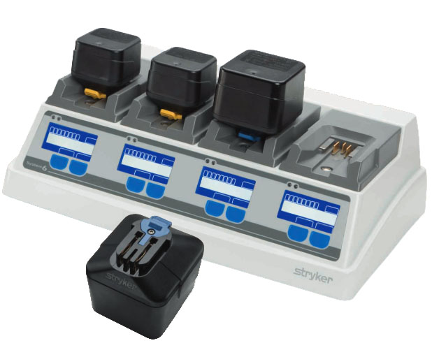 Stryker System 6 Batteries and Chargers