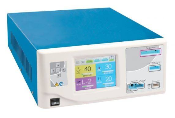 WHITTEMORE EAGLE TWO PLUS ADVANCED 400 WATT MONOPOLAR + BIPOLAR + VESSEL SEALING ESU WITH TOUCH SCREEN (VETERINARY AND INTERNATIONAL USE ONLY)