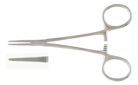 Hartman Mosquito Forceps (New), 3 5in Straight