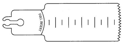 picture of stryker sagittal saw blade