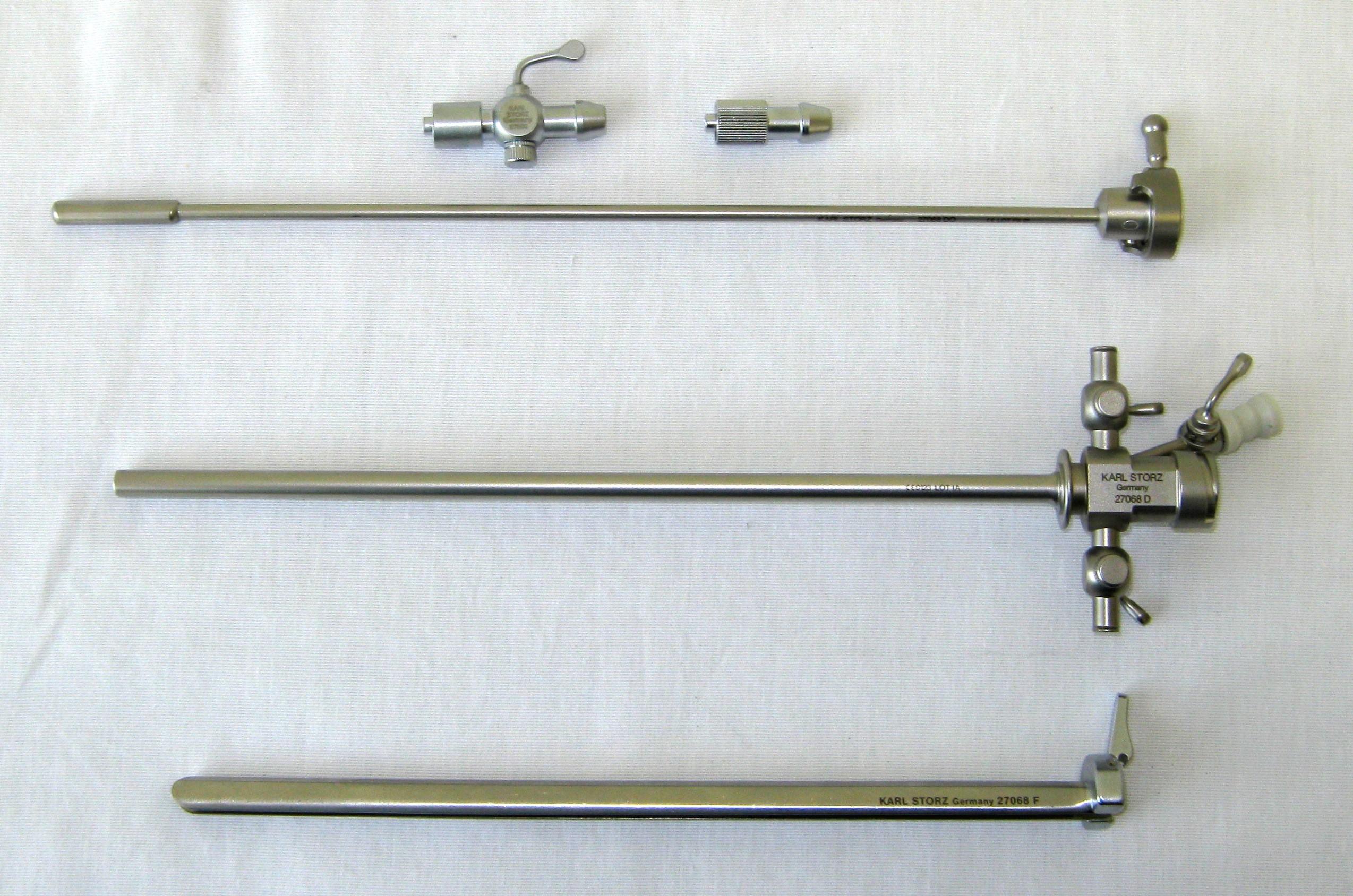 Storz 27068 D Sachse Urethrotome Sheath Set, 21 Fr