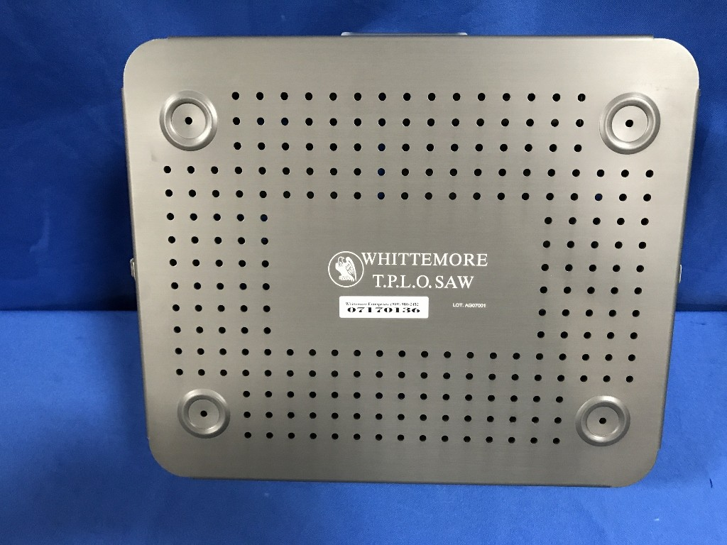 (New) Whittemore Sterlization Case for 500-B Series TPLO Saw & Attachments