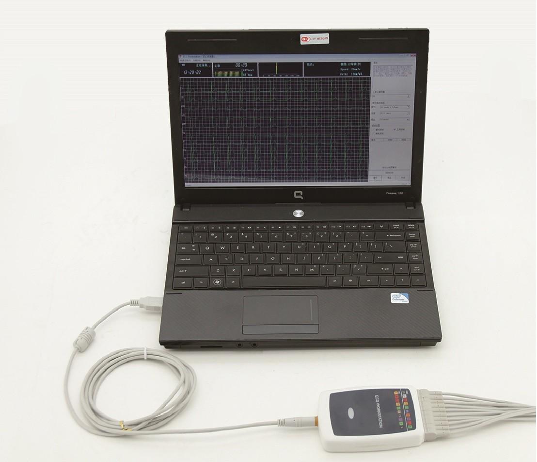 New Whittemore 12-lead ECG workstation, PC based USB  ECG Recorder