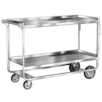 picture of lakeside 758 utility cart with 2 shelves