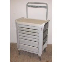 picture of metro flex cart with back