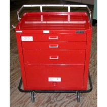 Waterloo Uni-cart Crashcart, 3-drawer