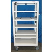 Stryker 240-095-000 Endoscopy Cart With 5 Adjustable Shelves