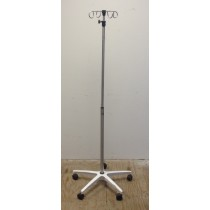 Small Iv Pole-stand, 4-hook, 5-leg Base