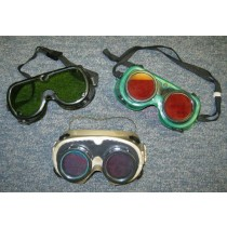 Small Laser Eye Protection Goggles - Used