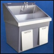 Mac Medical Ss32 Scrub Sinks