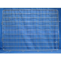 picture of Shor-Line Cage Door, 48in W x 36in H (Old Style), Hinged Left