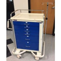 picture of Armstrong A-Smart Premier Emergency Cart, 6-Drawer Front