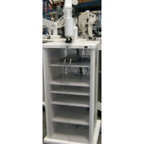 PROMEDICA GLASS FRONT ENDOSCPY CART WITH FLAT SCREEN MOUNT