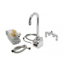 Whittemore Scrub Sink Faucet infrared red Hands free.