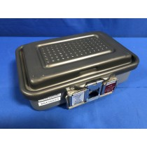 Genesis CD0-4C Sterlization Case, With Insert -  Rough Overall Size: 13in L x 10in W x 4in High