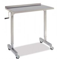 "NEW Whittemore Enterprises Stainless Steel OVER THE TABLE INSTRUMENT STAND  	40""L x 23""W x adjusts from 39"" - 62""H"
