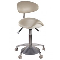 W.e. -new- Foot Activated Pneumatic Saddle Stool