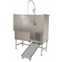 "Whittemore 60"" Grooming Tub with rotating Ramp"
