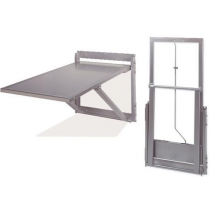 Whittemore Folding Wall Mount Exam Table- Longitudinal